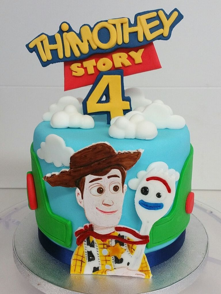 Idelices Pâtisserie - Cake Design oise - gâteau Toy Story